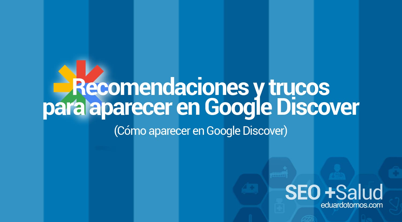 Como aparecer en google discover