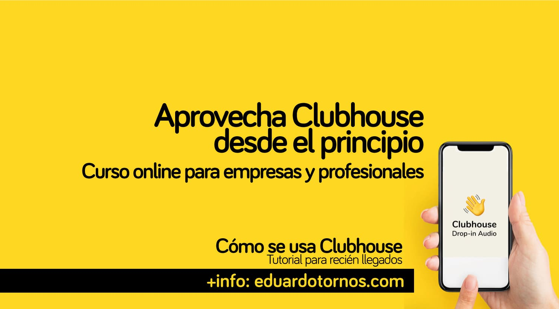 Taller online para aprender a usar Clubhouse