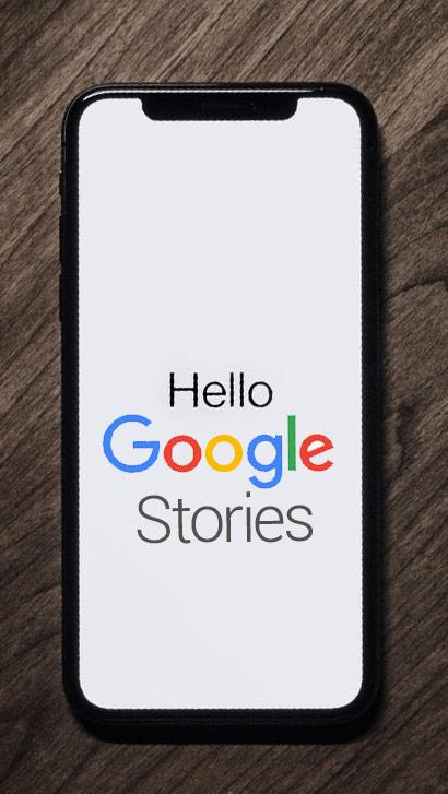 Google Stories portada