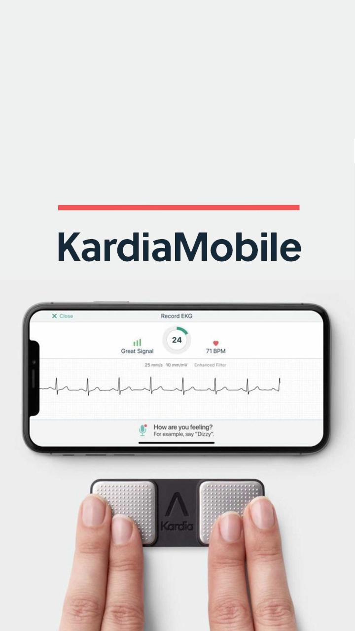 Cómo funciona Kardia mobile Alivecor