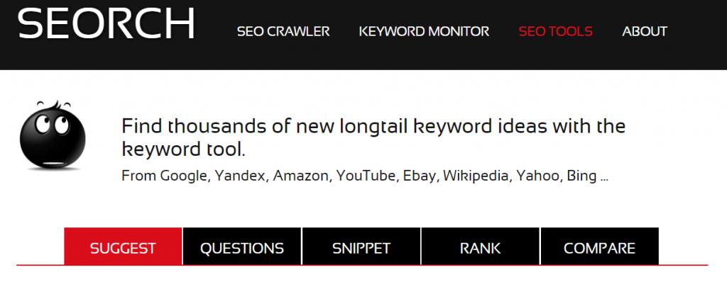 Seorch herramienta para hacer KeyWordResearch