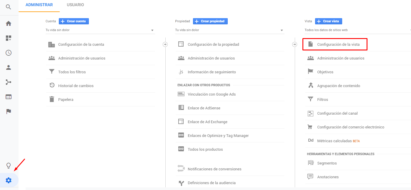 Como excluir en Google Analitycs el parámetro de seguimiento de Facebook fbclid