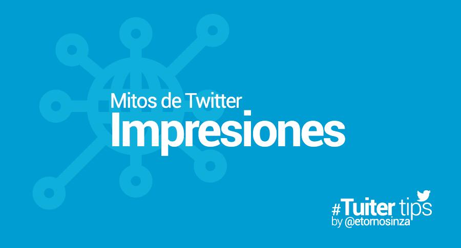Cómo se calculan las impresiones de Twitter
