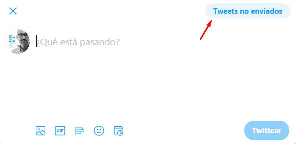 Como llegar a los tweets programados en Twitter