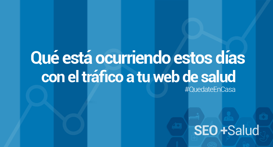 trafico web salud