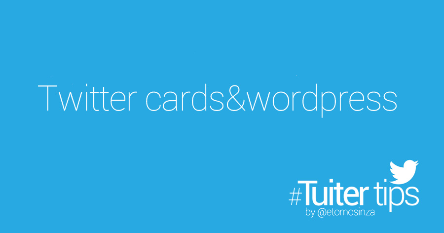 twitter cards wordpress